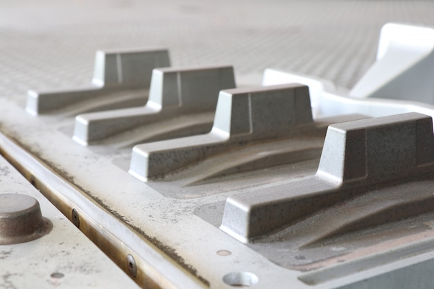 Padrão ou ferramentas para fundição de ferro Foto Premium