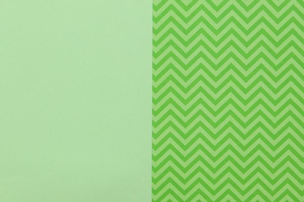 Padrão verde e superfície plana Foto Premium