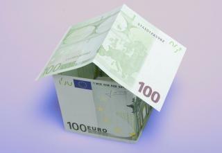 Pagamento da casa dinheiro Foto gratuita