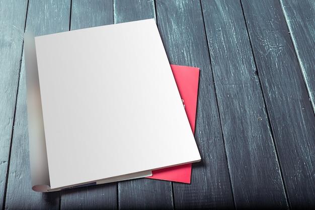 Páginas de revistas em branco Foto Premium