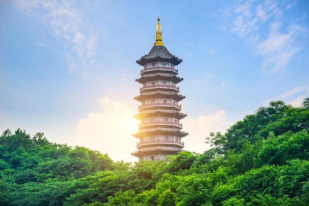 Pagoda of six harmonies, chongqing, china Foto gratuita