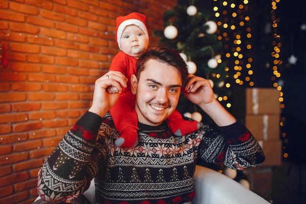 Pai com filho Foto gratuita