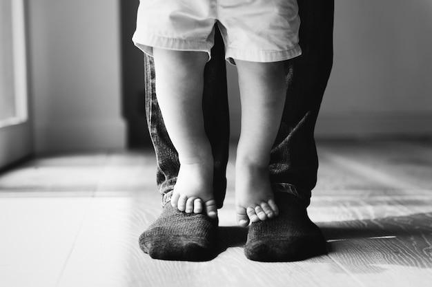Pai e filho Foto gratuita