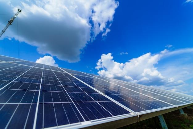 Painéis solares Foto Premium