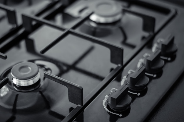 Painel de controle para fogão a gás Foto Premium