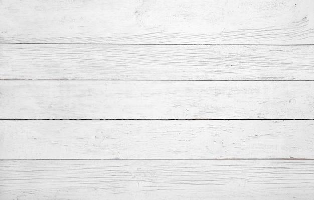 Painel de madeira branco com belos padrões. prancha de madeira textura de fundo, piso de madeira. Foto Premium