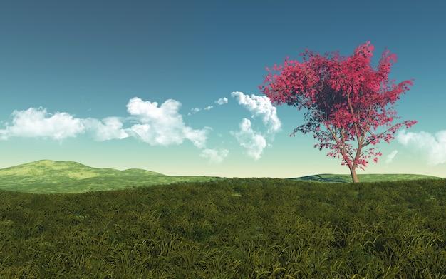 Baixar Imagens Bonitas: Paisagem Bonita Com árvore