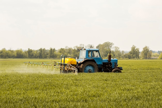 Paisagem de campo agrícola Foto Premium