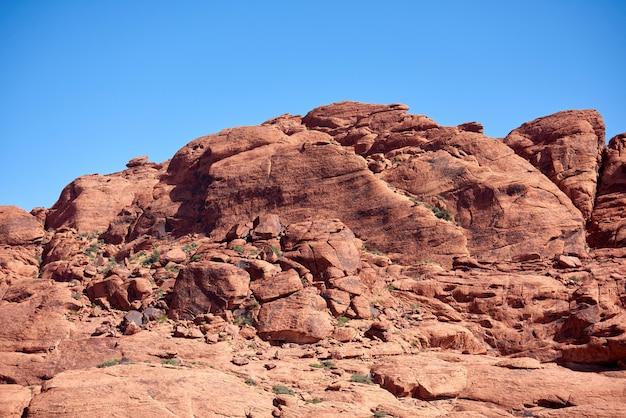 Paisagem em red rock canyon, nevada, eua Foto gratuita