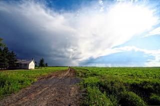 Paisagem rural quebec Foto gratuita