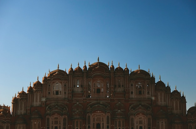 Palácio de hawa mahal jaipur, índia Foto gratuita