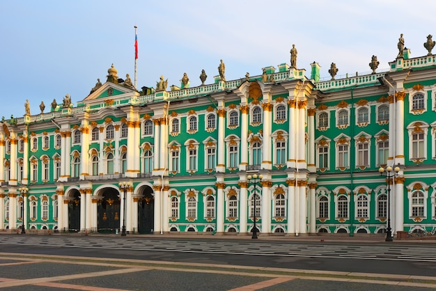 Palácio de inverno em são petersburgo Foto gratuita