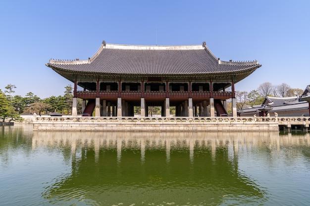 Palácio gyeongbokgung Foto Premium