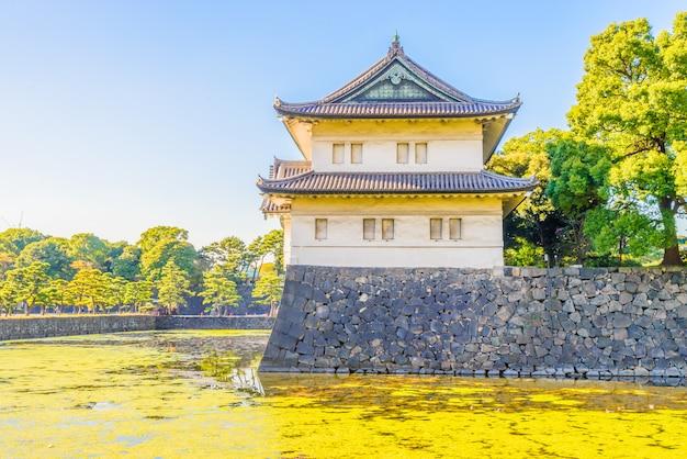 Palácio imperial, em, tokyo, japão Foto gratuita