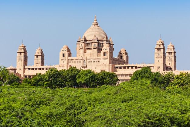 Palácio umaid bhawan Foto Premium