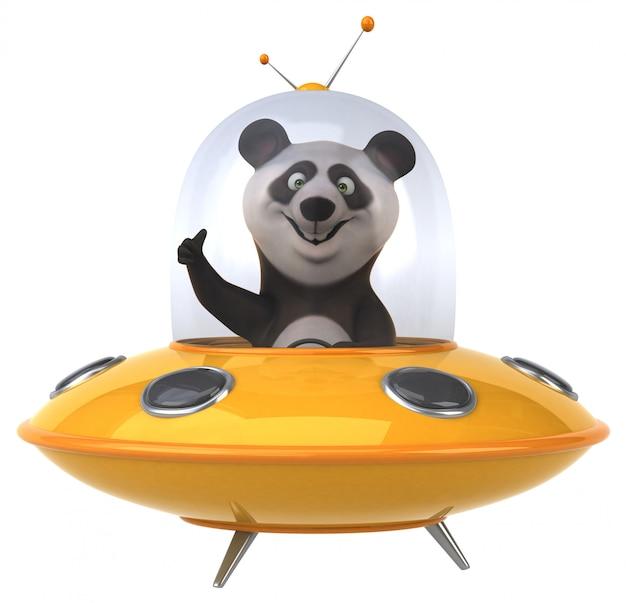 Panda divertido Foto Premium