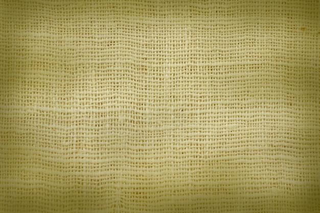 Pano de saco natural texturizado para o fundo. Foto Premium