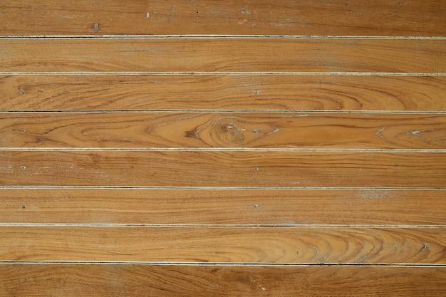 Panorama da parede de madeira vintage marrom Foto Premium