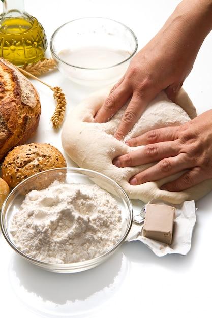 Pão caseiro Foto Premium