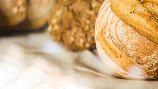 Pão na padaria Foto gratuita