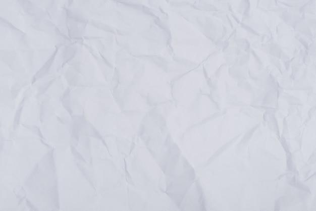 Papel amassado enrugado abstrato branco papel amassado enrugado ...