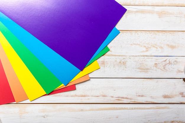 Papel colorido Foto Premium