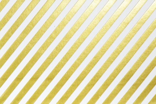 Papel de embrulho branco e dourado Foto gratuita