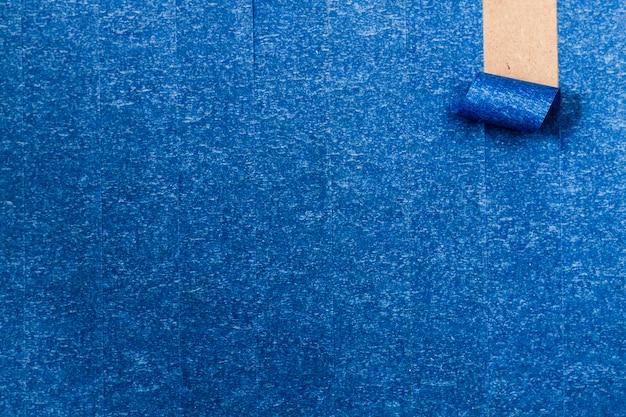 Papel de parede adesivo azul com linha de enrolamento Foto gratuita