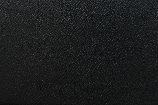 Papel de parede de couro preto macro fragmento textura Foto gratuita