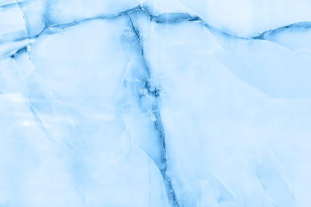 Papel de parede estampado em mármore azul Foto gratuita