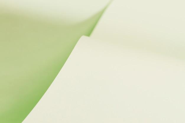 Papel enrolado textura de página verde Foto gratuita