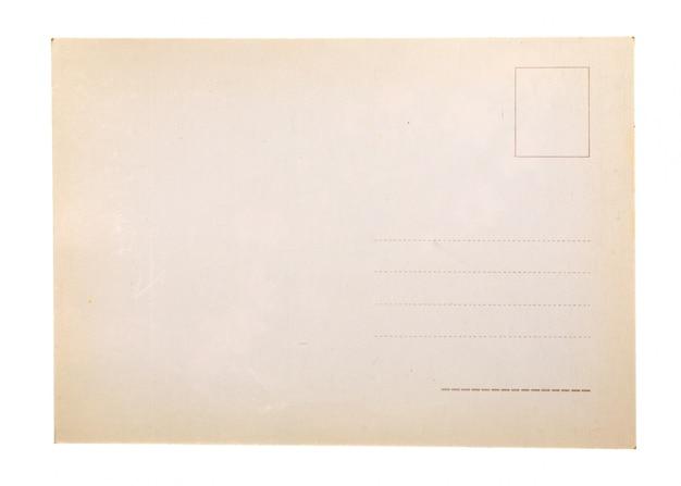 Papel velho em branco Foto Premium