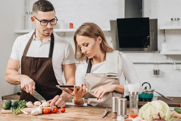Par, cozinhar, casa Foto gratuita