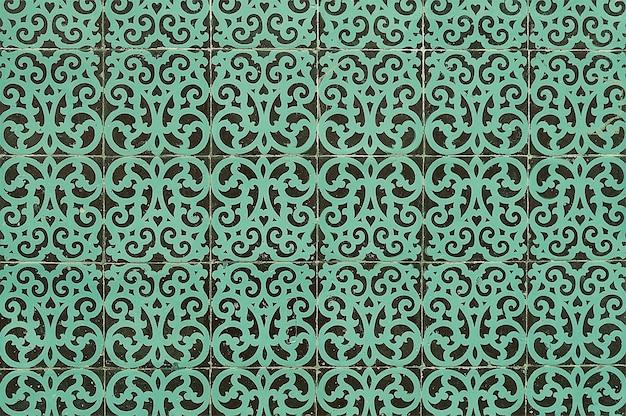Parede da casa de azulejos portugueses Foto Premium