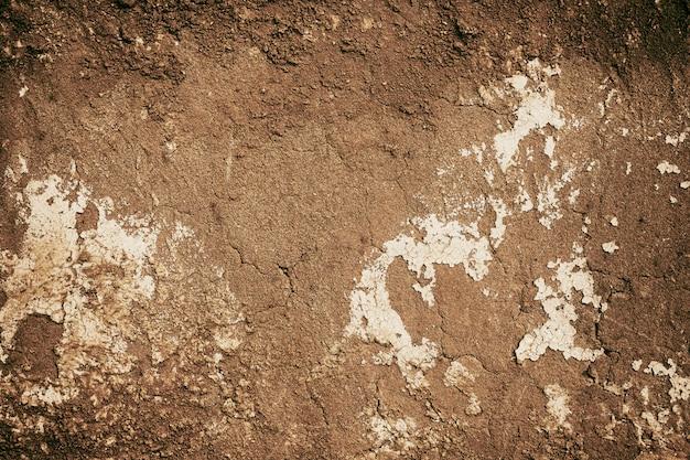 Parede de casa rachada textura solo para fundo natural velho Foto Premium