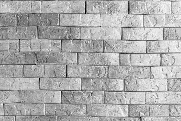 Parede de concreto de cimento. fundo da parede de tijolo Foto Premium
