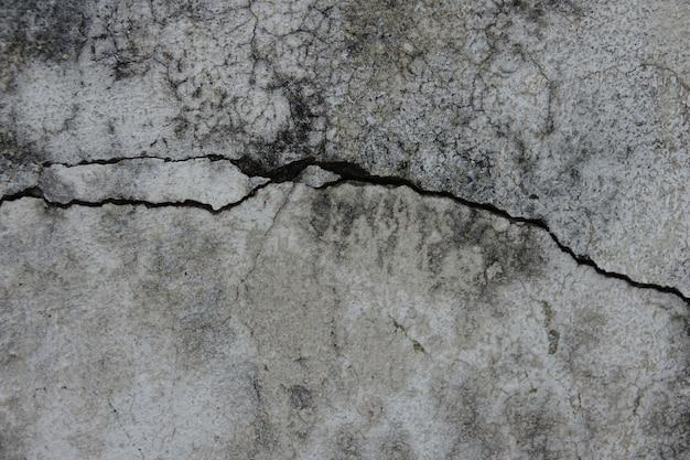 Parede de concreto rachado Foto gratuita