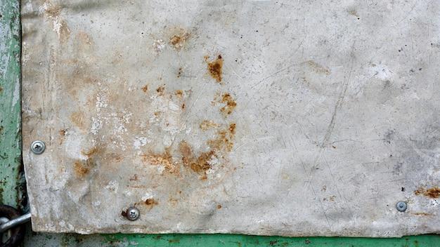 Parede de cópia cinza vintage enferrujada Foto Premium