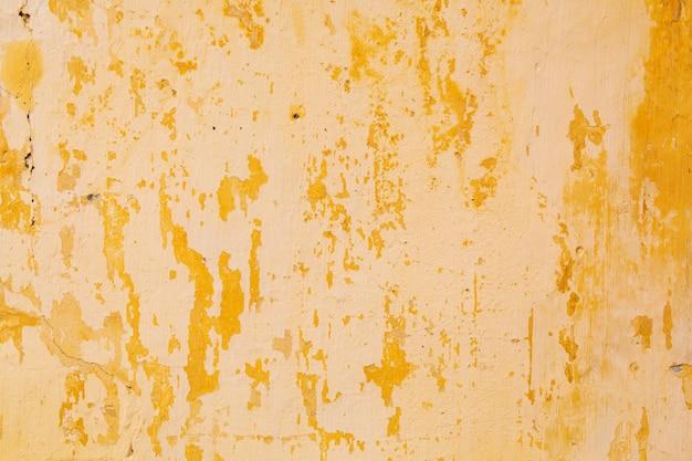 Parede de gesso rachado antigo, textura Foto Premium