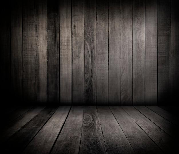 Parede de madeira e piso Foto gratuita