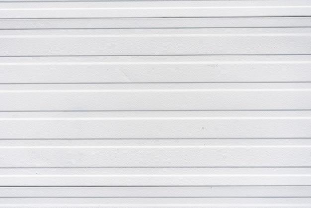 Parede de painéis de metal branco simples Foto gratuita