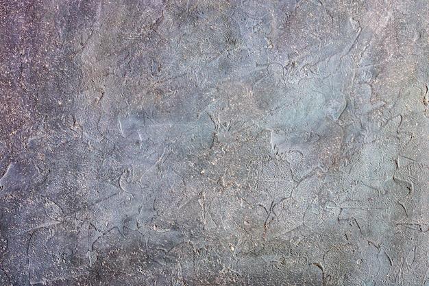 Parede de pedra violeta textura de fundo de estuque de concreto Foto Premium
