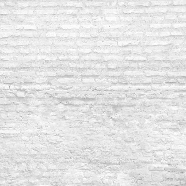 Parede de tijolo branca Foto gratuita