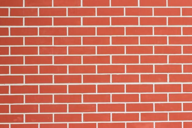 Parede de tijolo com vestígios de cimento. fechar-se Foto Premium