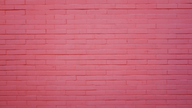 Parede de tijolo rosa Foto gratuita