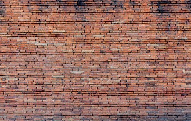 Parede de tijolo vermelho Foto Premium