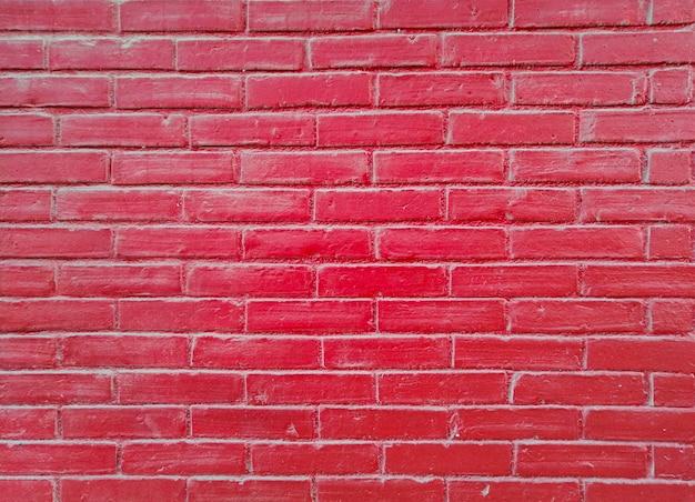 Parede de tijolo vermelho Foto gratuita