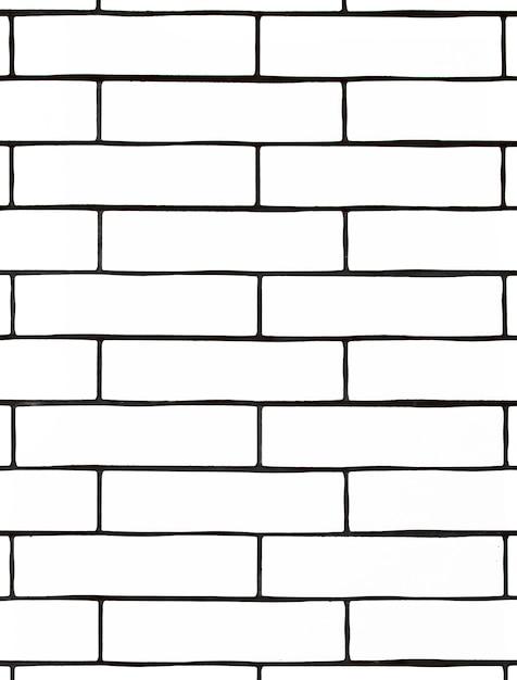 Parede de tijolos brancos. fundo com azulejos brancos. Foto gratuita