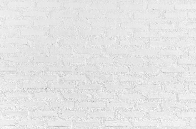 Parede de tijolos brancos grunge Foto Premium