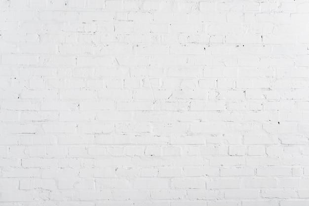 Parede de tijolos brancos Foto gratuita